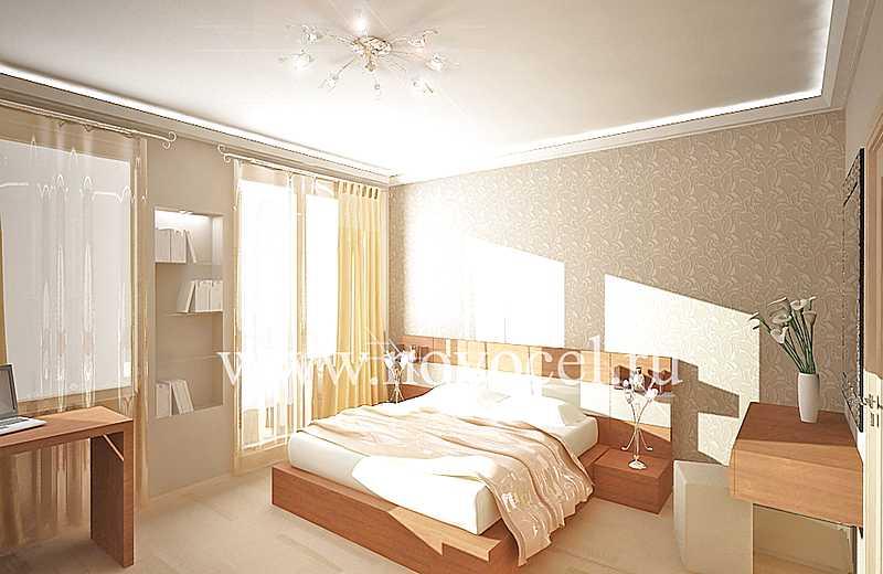 Ремонт спальни вид 3